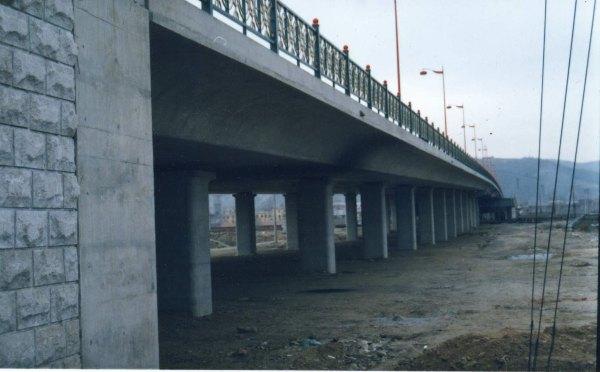 牡丹江市富江路高架桥